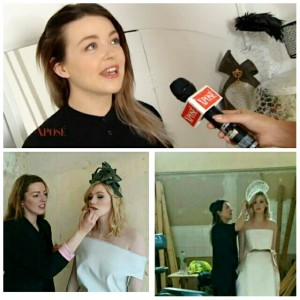 TV3 Xpose with LK Millinery