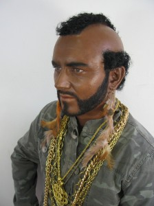 White Male as Mr T